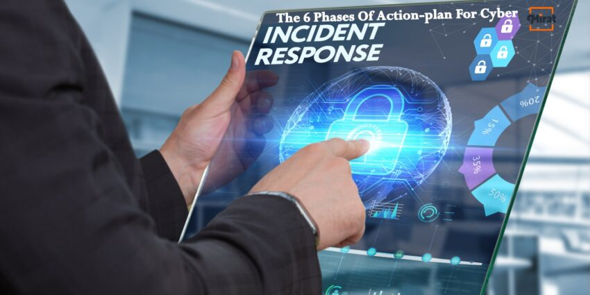 The 6 Phases Of Action-plan For Cyber Incident Response Plan By MIRAT
